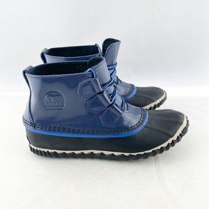 Sorel Out 'n About Nocturnal Blue Rain Booties